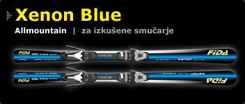 Smuči Xenon Blue
